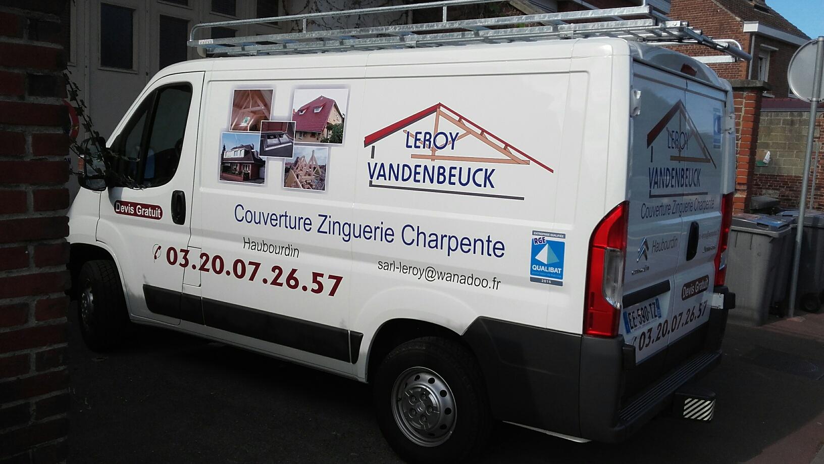 Véhicule publicitaire Côté - Fabicado Nord
