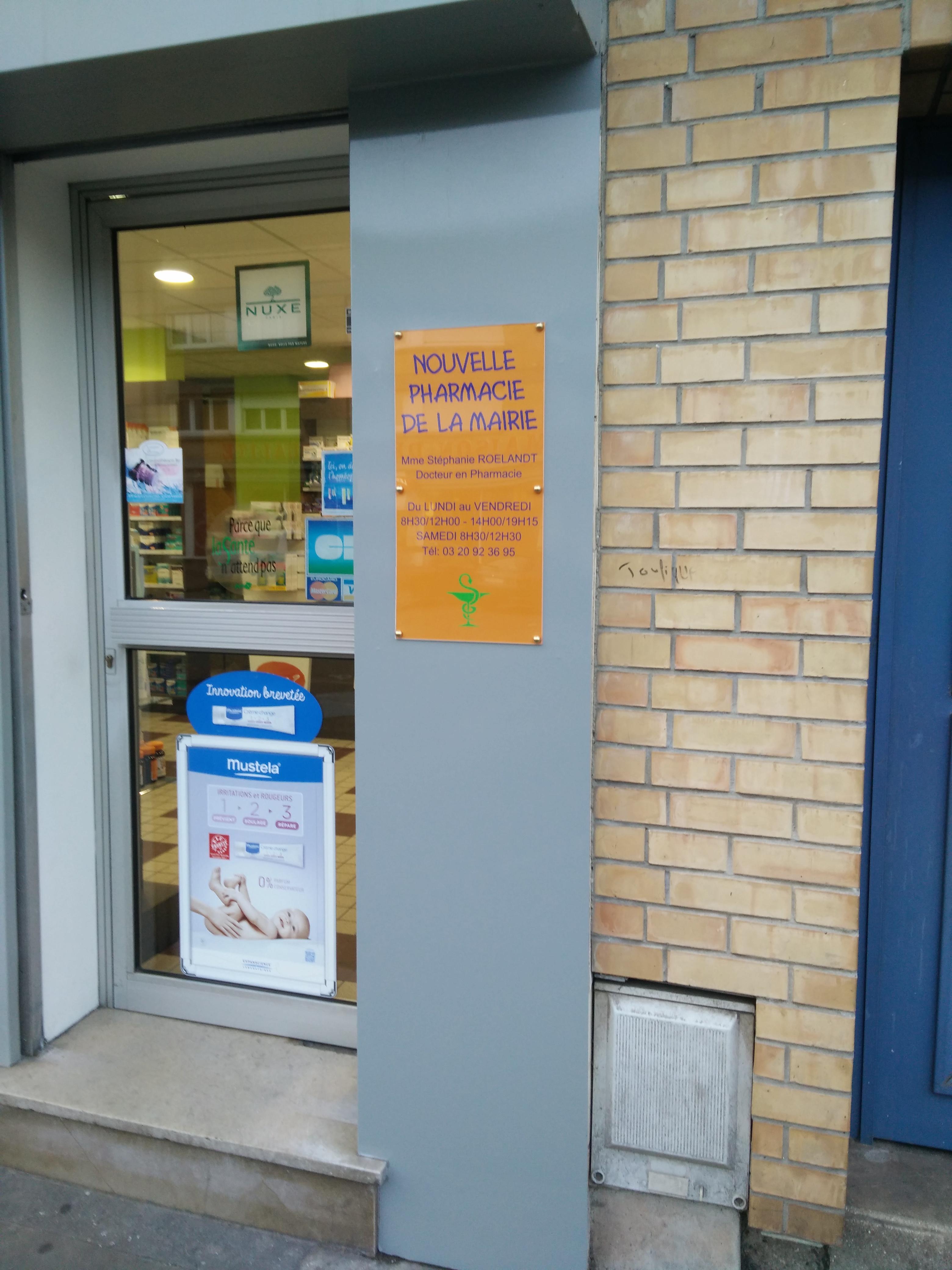 Plexi Façade Pharmacie Fabicado Lille